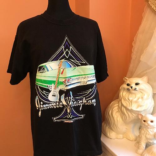 90s / 00s Tshirt, Vintage Tshirt, Jimmie Vaughan, Blues Guitar, Classic Car