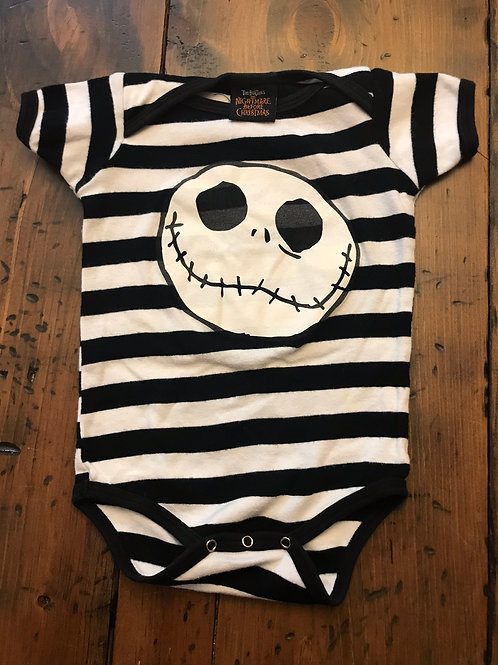 Nightmare Before Christmas, Tim Burton, Jack Skellington, One-Piece, Baby Outfit