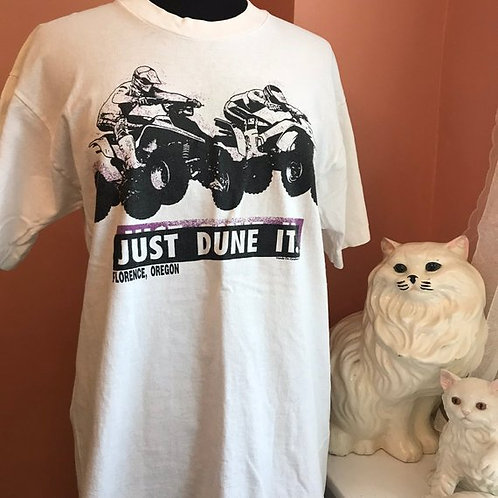 90s T-Shirt, Vintage Honda, Racing, Just Dune It, Nike Spoof, Florence Oregon