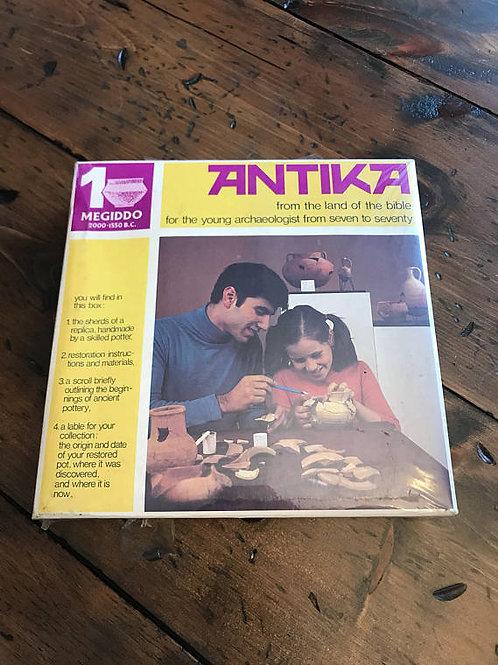 Vintage Pottery Artifact Kit, Antika from Jerusalem, Kids Craft Projects