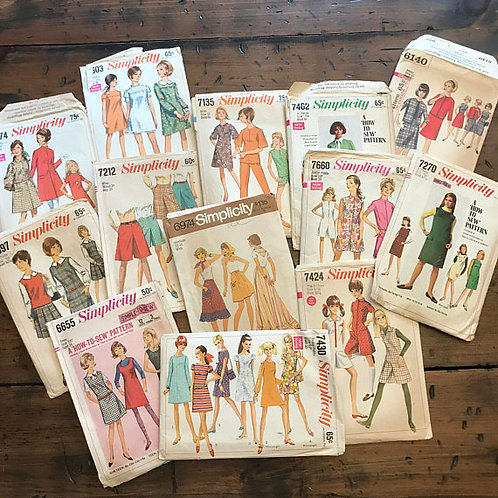 Fashion Clothing Patterns, Juniors & Misses, Simplicity Sewing Pattern