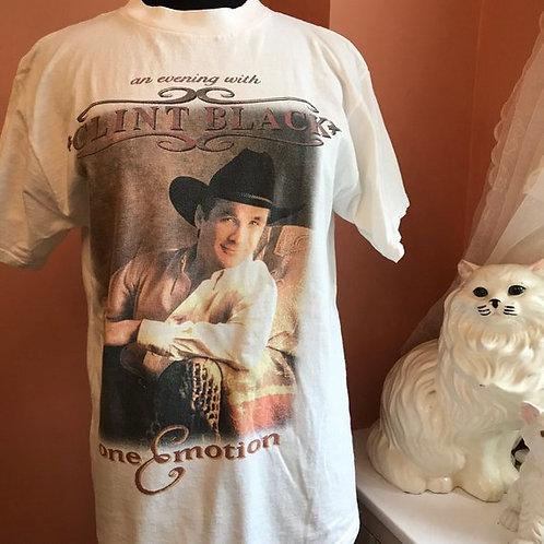 Vintage 90s Tshirt, Vintage Tshirt, Clint Black, Hound For Glory World Tour