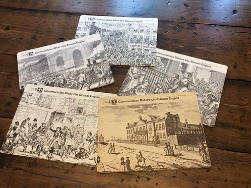 History Teacher Flashcards, Historical, Steam Engine & Industrial Revolution
