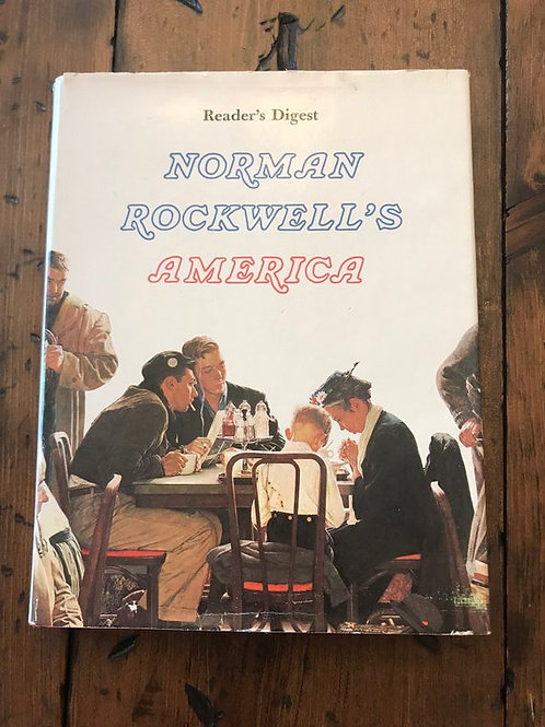 Norman Rockwell Art, 1976 Art Book, Norman Rockwell's America, Reader Diges