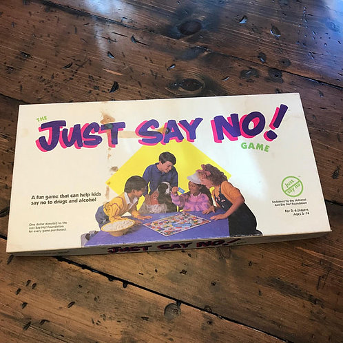 Just Say No Board Game, Anti-Drug Game