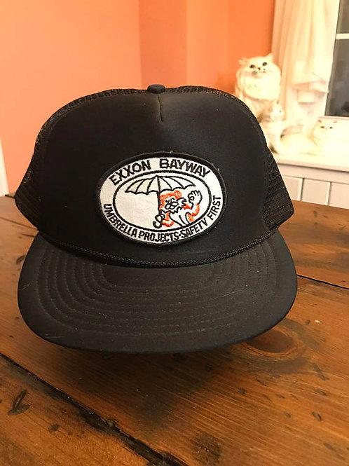 Trucker Hat, Exxon Oil Company, 80s Dad Hat, NOS