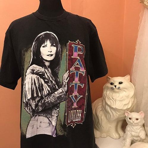 Vintage 90s Tshirt, Vintage Tshirt, Patty Loveless Tour Shirt, Country