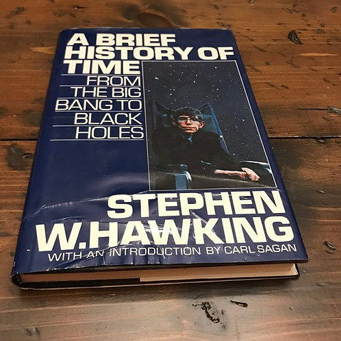 A Brief History of Time, From The Big Bang to Black Holes, Stephen Hawking