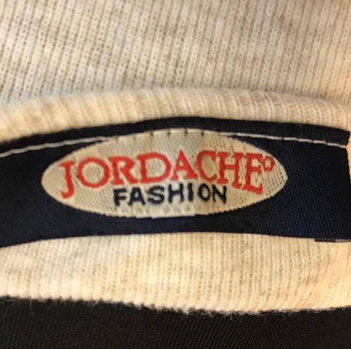 Vintage Tshirt, 90s Jordache Shirt, Ribbed Crop Top, 90s Grunge Blouse, M