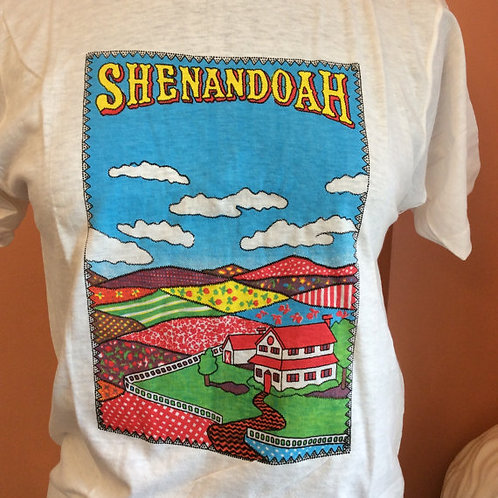 Vintage Tshirt, 70s Tshirt, NOS, Broadway Musical, Shenandoah, New Old Stock