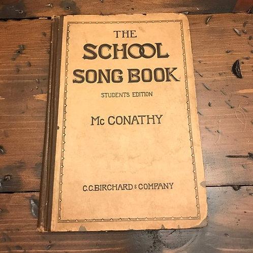 Antique Sheet Music Book, 1909, Choir Teacher, Chorus Book, Pirates of Penzance