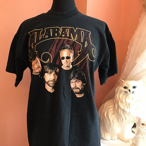 90s T-Shirt, Vintage Tshirt, Alabama Tour 98, Band Tour Shirt, Southern Rock