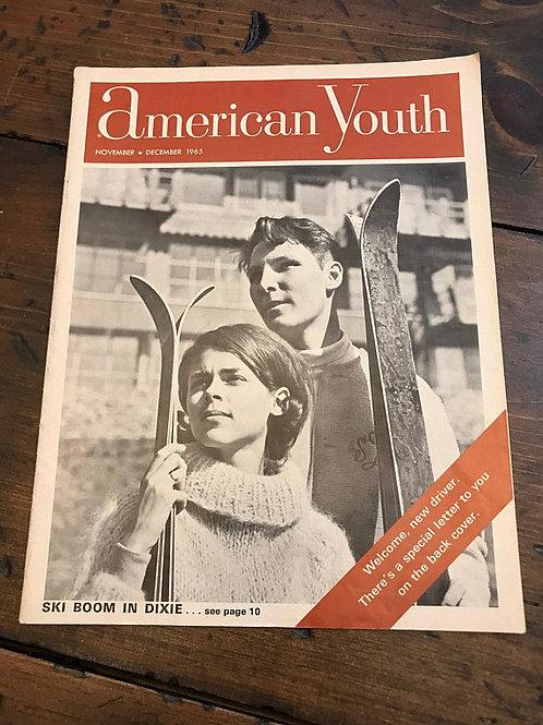 Vintage 60s, Vintage Magazine, General Motors, Drivers Licence, GM, Skiing