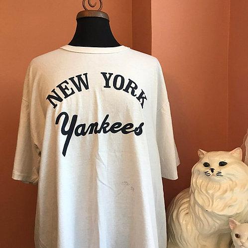 Vintage Tshirt, 80s T-Shirt, MLB, New York Yankees, Vintage Yankees, Baseball