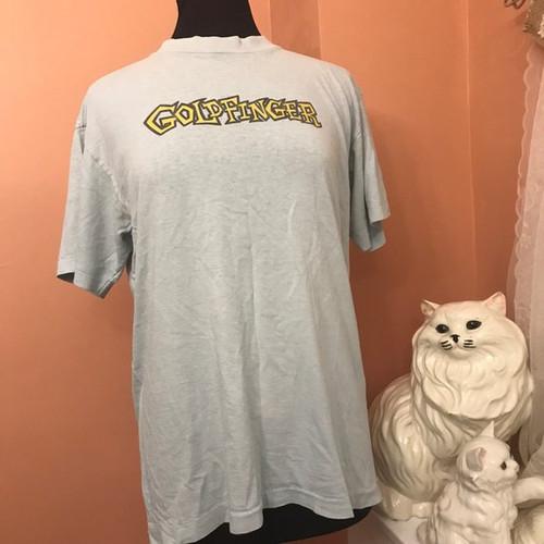 2212f8734f Goldfinger TShirt, Vintage 1995 Band Shirt, Stone Pony Asbury Park Show  (C983)
