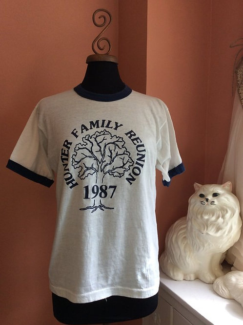 Vintage 80s Shirt, Vintage Ringer, Vintage Tshirt, 80s Ringer Tee, Screen Stars