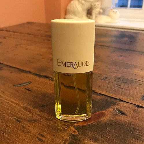 Vintage Emeraude Coty Cologne, 1980s Perfume, Vintage Fragrance
