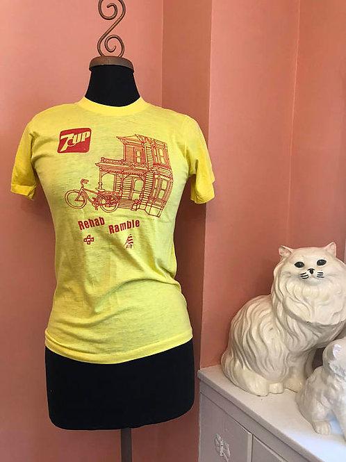 7up T-Shirt, Rehab Ramble, American Youth Hostel, Biking, Screen Stars