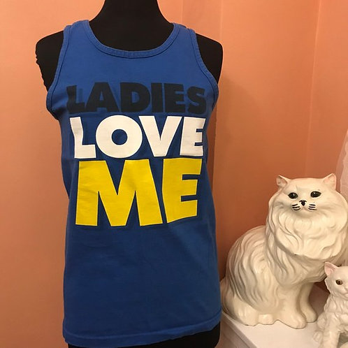 90s T-Shirt, Vintage Tank, Ladies Love Me, Gym Tank, Bachelor Party