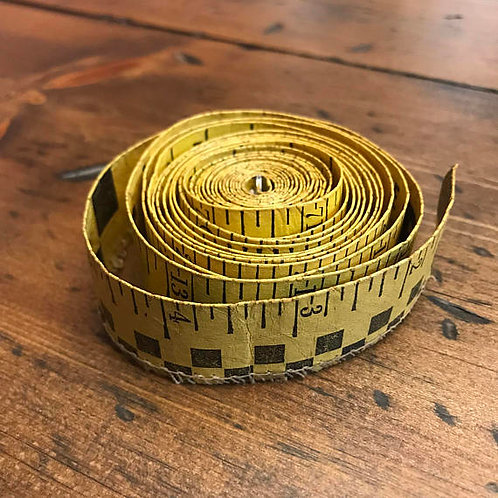 Purina Cow Measuring Tape, Vintage Tape Measure, Farm Salvage