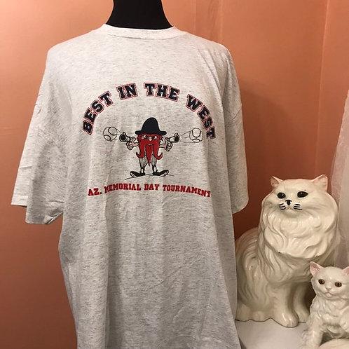 Vintage Tshirt, 90s T-Shirt, Babe Ruth Tournament, Gunslinger, Minor League