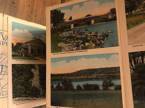 Postcard Collection, 1930s/1940s, Cherry Valley Turnpike, Syracuse, Albany
