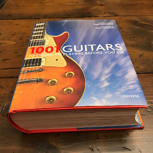 1001 Guitars, to Dream of Playing Before You Die, Terry Burrows, History of
