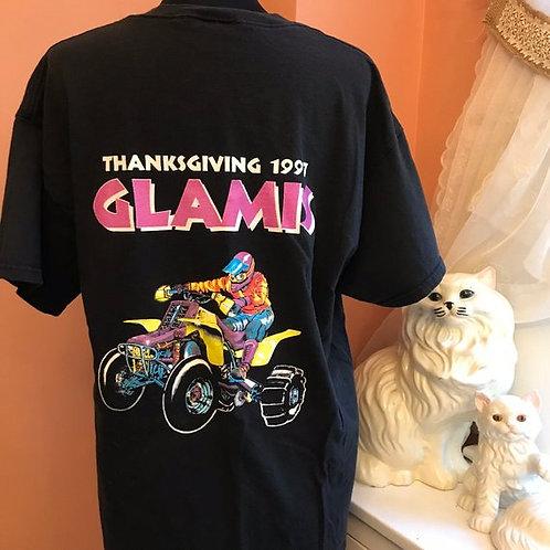 90s T-Shirt, Vintage Quad Racing, Sand Dune, Dune Buggy, Vintage Glamis Cali