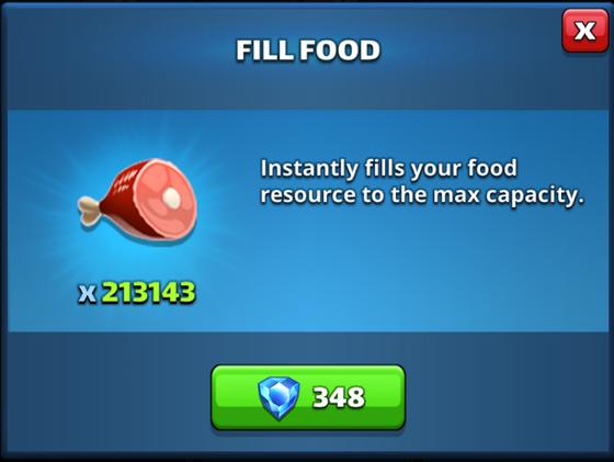 Iron/Farming Food with Raids