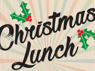 Christmas Lunch info...