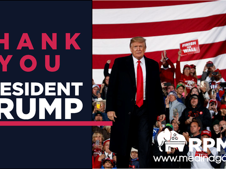 Thank You President Trump!
