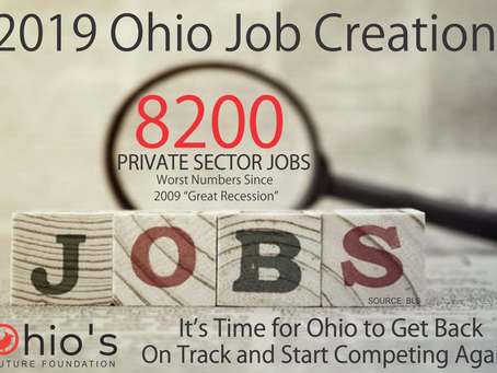 "2019 Ohio Job Growth ""Dismal"""