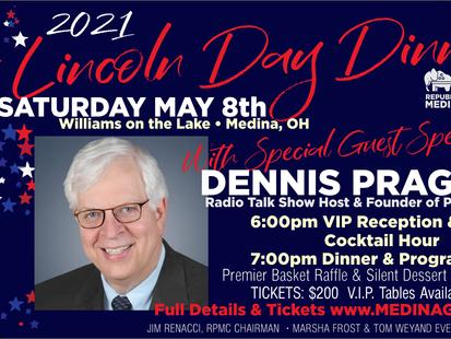 DENNIS PRAGER TO HEADLINE 2021 LDD