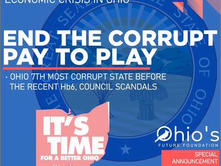 End Corruption & Pay to Play in Ohio