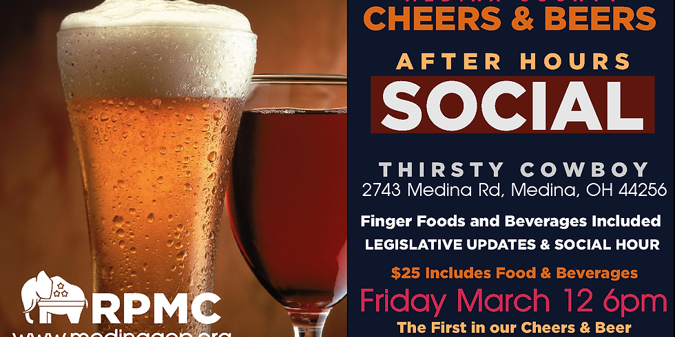 CHEERS & BEER AFTER HOURS MARCH 12 Thirsty Cowboy