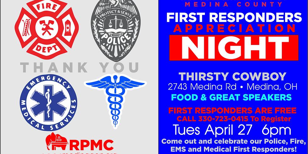 RPMC First Responders Appreciation Night