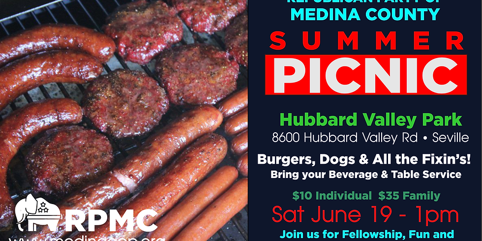 RPMC Summer Picnic at Hubbard Valley Park