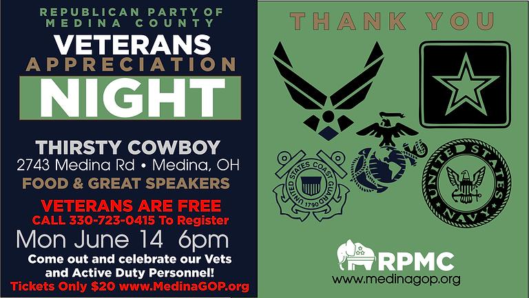 RPMC Veterans Appreciation Night