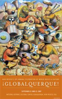 2007 Poster Art by Santiago Perez