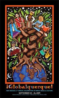 2009 Poster Art by Jade Leyva