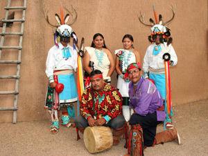 Cellicion Zuni Dancers (Zuni Pueblo)