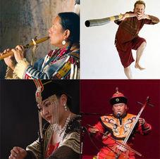 R. Carlos Nakai Earth Sounds Ensemble (Navajo-Ute/Mongolia/UK)