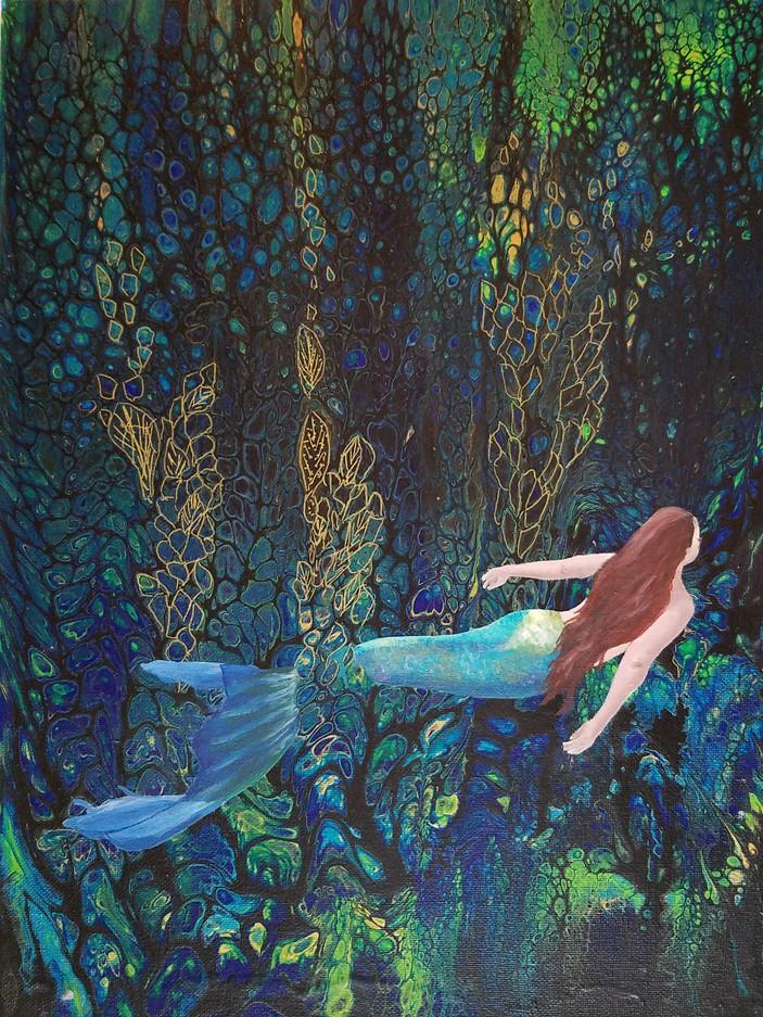 Underwater Garden-$85