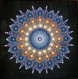 Mandala Canvas-SOLD