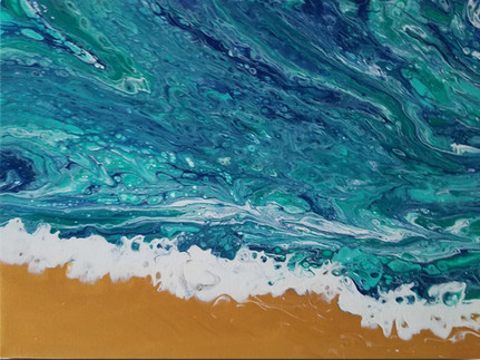 """Sound of Waves""-Sold"