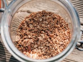 Granola aux noix et sirop d'érable