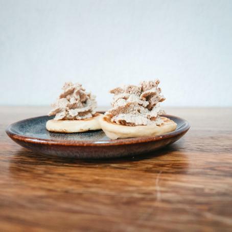 Mousse de champignons, façon foie gras