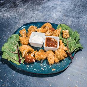 Wings vegan aux épices et ses sauces