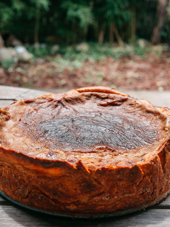 Une nouvelle recette du blog de cuisine végétarienne radis et compagnie avec ce flan parisien vegan, flan patissier vegan, flan vegan. Un gâteau vegan très moelleux et savoureux mais plus léger et plus healthy.