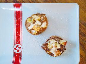 Pancake vegan à la farine de châtaigne (sans gluten)